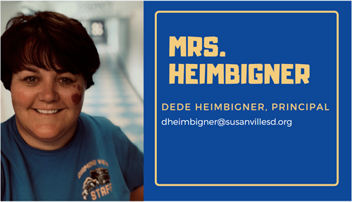 A portrait of Mrs. Heimbigner